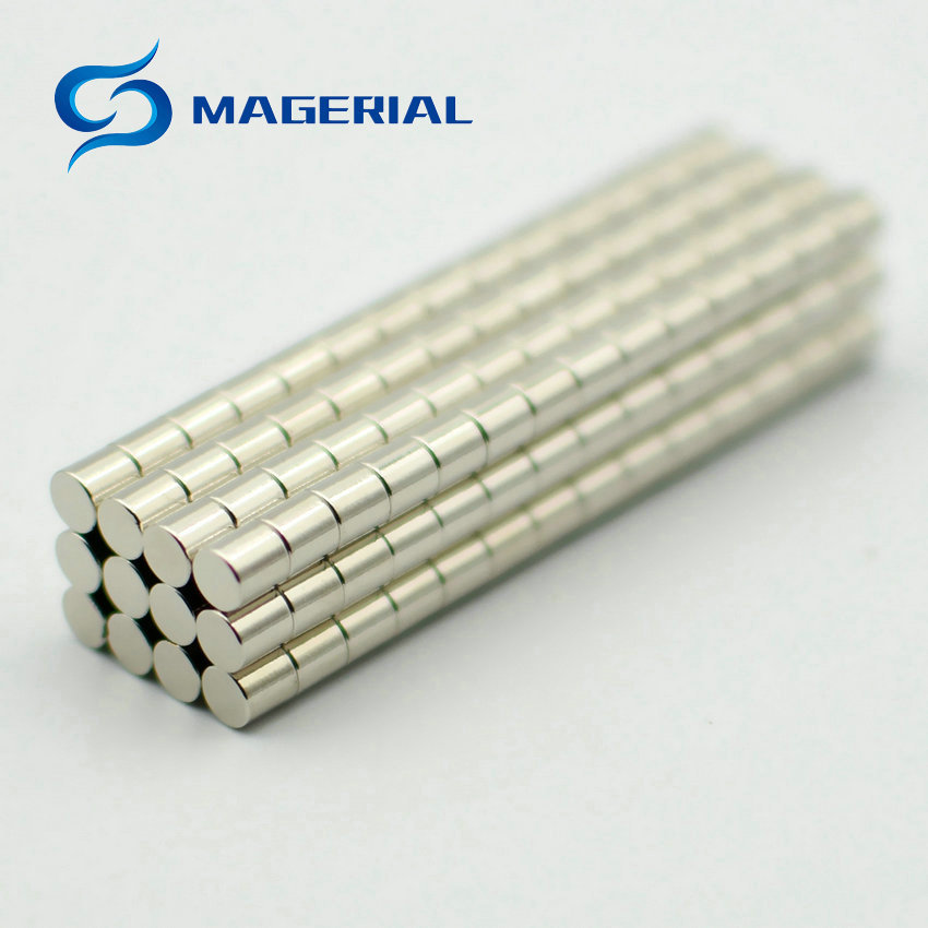 NdFeB Rod Dia. 4x4 mm Jewery magnet NdFeB Disc Magnet Neodymium Permanent Magnets Grade N35 NiCuNi Plated Axially Magnetized 1 pack dia 6x3 mm jelwery magnet ndfeb disc magnet neodymium permanent magnets grade n35 nicuni plated axially magnetized