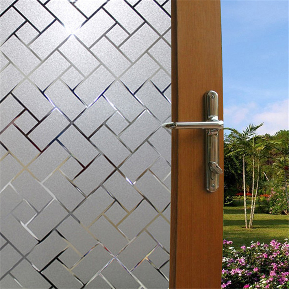 PVC Static Cling Cover Frosted Window Glass Film Sticker Privacy Home Decor Lots