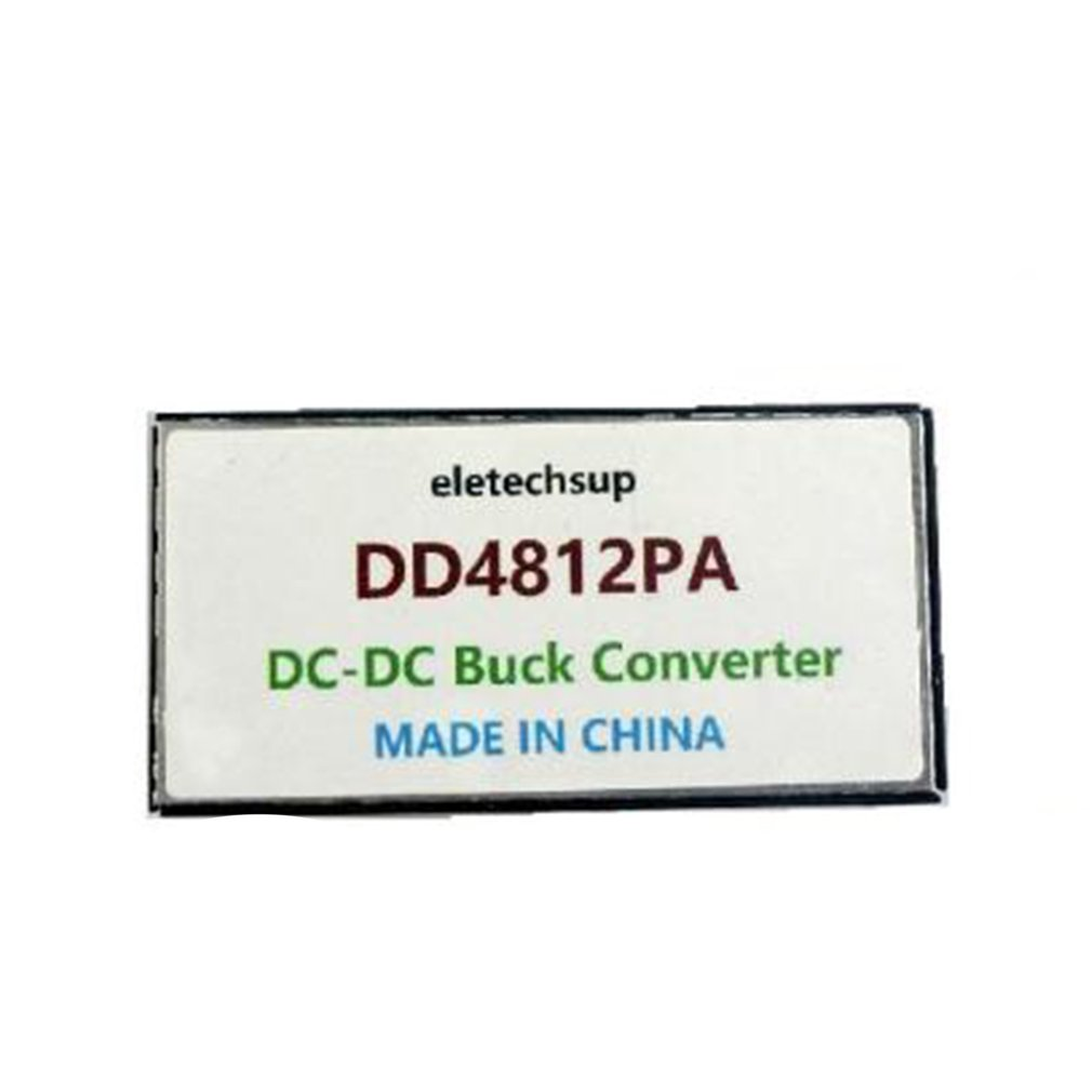 DD4812PA Durable Use Dual Isolated DC-DC Buck Converter 36-72V To 12V DC Step-down Module