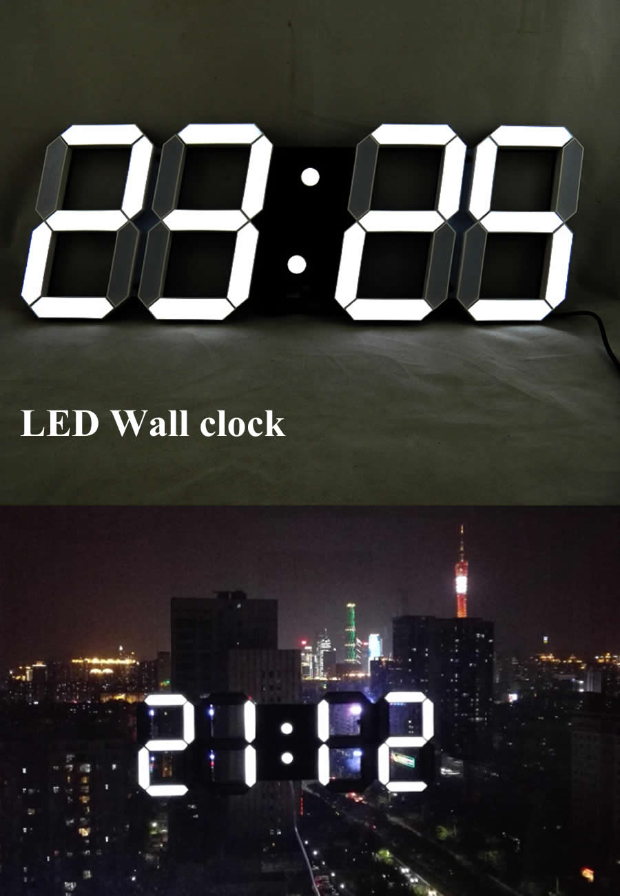 Buy remote control wall clock and get free shipping on aliexpress amipublicfo Images
