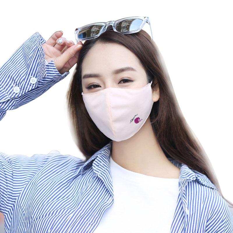 1 Pcs Mode Anti Staub Gesicht Mund Abdeckung Maske Atemschutz-staubdicht Anti-bakterielle Waschbar-reusable Comfy Masken Hedgehog Damen-accessoires