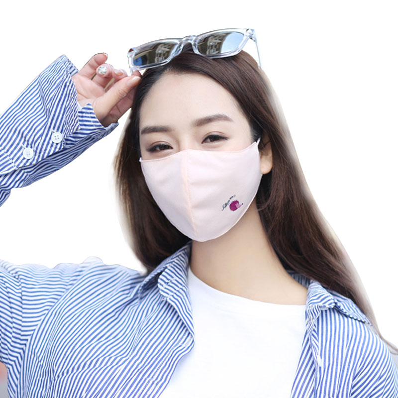 1Pcs Fashion Anti Dust Face Mouth Cover Mask Respirator - Dustproof Anti-bacterial Washable - Reusable Comfy Masks Hedgehog