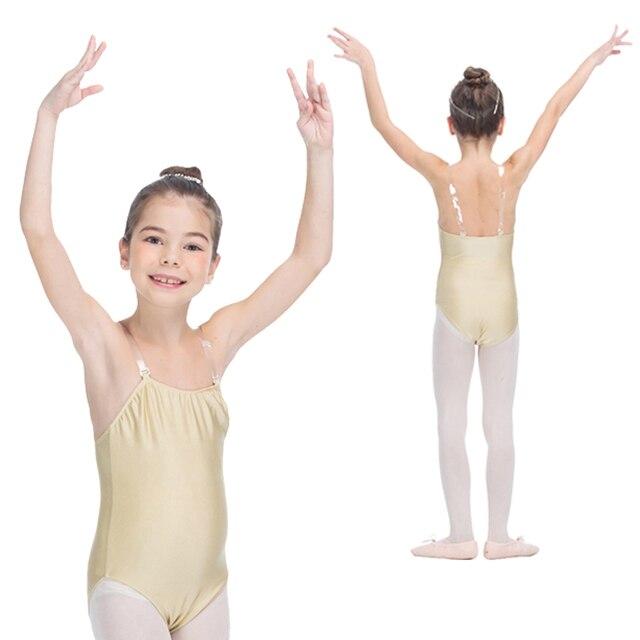 Carne Color de la piel Ballet Nylon/Lycra ropa interior camisola ...