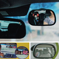 8*5cm Mini Acrylic Car Rear View Mirror Installing Baby Car Mirror In-Sight Rearview Monitor For Child Safety Seat