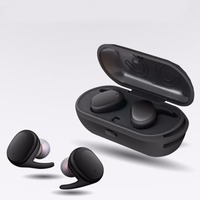 TWS Bluetooth Touch Control Hifi Earphone With Mic Wireless Earbuds Stereo Microphone For Phone With Charger