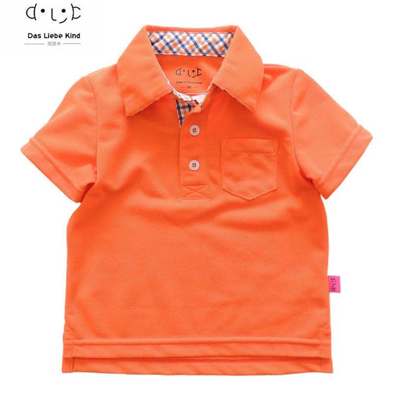 Dětské chlapecké tričko značky dětské polokošile dětské trička s krátkým rukávem oblečení 3-9leté chlapecké odpaliště vysoké kvality