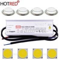 200 Вт CREE Cob CXB3590 светодиодный набор промышленных ламп 3000 K/3500 K/6500 K с Meanwell регулируемый светодиодный трансформатор HLG 185H C1400B