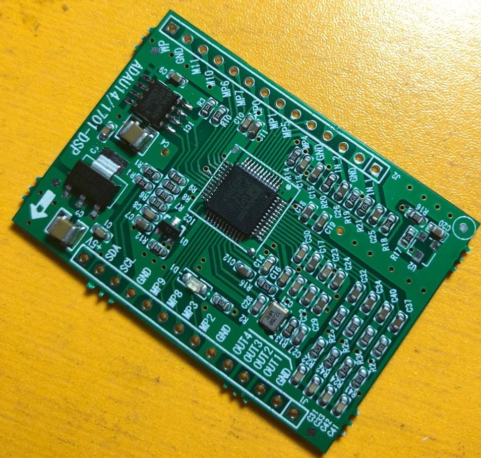 ADAU1401/ADAU1701 DSPmini Learning Board (upgrading To ADAU1401).