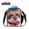 Cute Lunch Bags for Adults Women Lunch Cooler Bags with Zipper Dog Printed Lunch Box Bag for Men Work Insulated Lunch Container