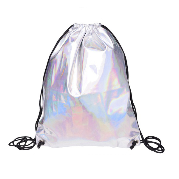 Home Office Storage United Silver Hiking Gym Bag Backpack School Book Bags Holo Graphic Smooth String Bag Aromatic Flavor