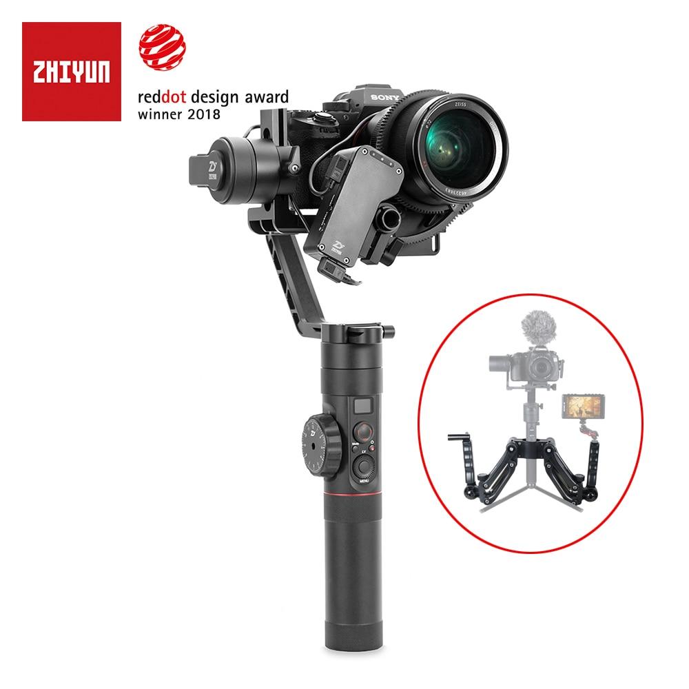 Zhiyun Crane 2 / Crane v2 3-axis Stabilizer Handheld Gimbal For DSLR Canon Camera Support 3.2KG VS Beholder zhiyun crane v2 f16556 beholder ds1 3 axle handhled gimbal stabilzier support canon 5d 6d 7d dslr vs ms1 nebula 4000 lite