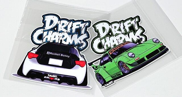 Brand New Japanese Drift Stickers Reflective Sticker Vinyl Rwb