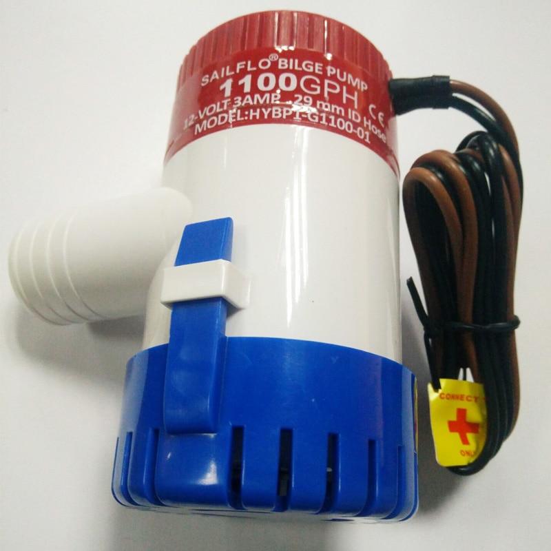 все цены на FREE shipping Bilge Pump 1100GPH DC 12V Electric Water Pump For Aquario Submersible Seaplane Motor Homes Houseboat Boats онлайн