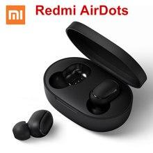Оригинал Xiao mi Red mi Airdots mi Bluetooth 5,0 гарнитура mi ni водонепроницаемые беспроводные наушники со встроенным mi c Handfree наушники