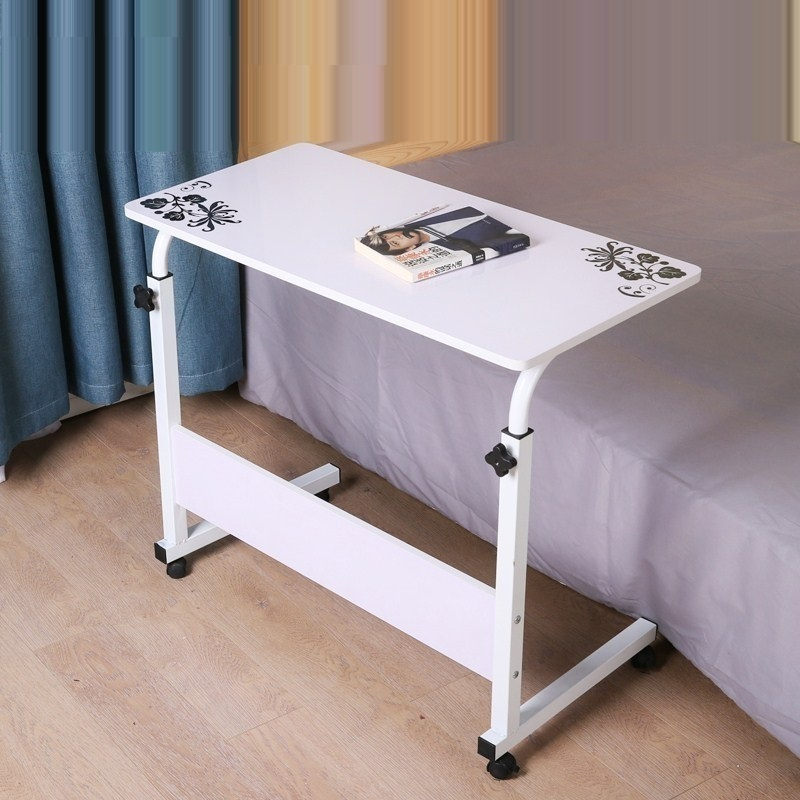 SK#6126 With a simple folding lifting table lazy bedside notebook comter desk desktop home bed FREE SHIPPING high quality simple notebook computer desk household bed table mobile lifting lazy bedside table office desk free shipping