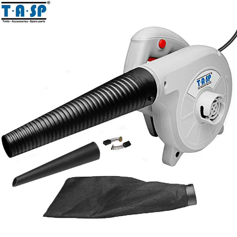 TASP 230V 600W Electric Air Blower Hand Turbo Fan Computer Dust Cleaner Collector -MABV600