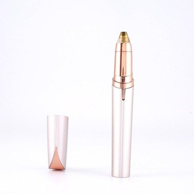 Mini Eyebrow Trimmer Face Brows Hair Remover Epilator Pen Mini Electric Shaver Painless Eye Brow Epilator 1