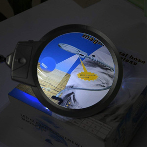 Image 5 - diamond painting tool Magnifier LED Light Paint by numbers Tools Led Magnify Glass Illuminated Magnifier Microscope Magnifying