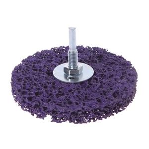 Image 5 - Discos para amoladora angular de limpieza, tira de polietileno, desoxidante, 100mm x 6mm