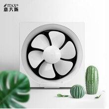 Кухонный вентиляционный для ванной вентилятор жалюзи Тип однонаправленный с сеткой настенное окно 8 дюймов вытяжной вентилятор ITAS9931A