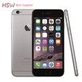 Venda quente original desbloqueado apple iphone 6 telefones celulares 1 gb RAM 16/64/128 GB ROM GSM WCDMA LTE de 4.7 'IPS iPhone6 Móvel Usado telefone