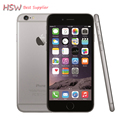 "Venta caliente original desbloqueado apple iphone 6 teléfonos celulares 1 gb RAM 16/64/128 GB ROM 4.7 ""IPS GSM WCDMA LTE iPhone6 Móvil Usado teléfono"
