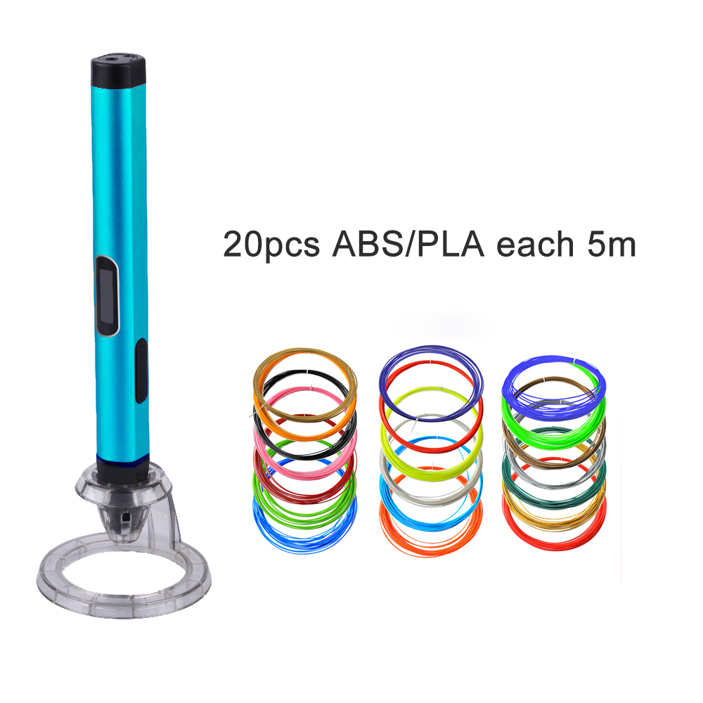 shipping free High Quality 3D funny Pen Stereo Drawing Pen  Kid Best Gift Dewang 4X with ABS/PLA plastic for art Painting gifts  christmas gifts fast epacket dewang newest 3d pen wiht usb cable low temperature free 9m abs pla child gift for imagination