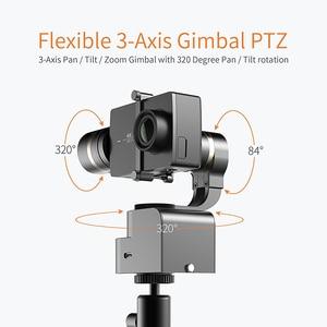 Image 2 - 李ハンドヘルド4 18kアクションカメラ用3軸パン/チルト/ロール手動調整320度コンパクト & ライト