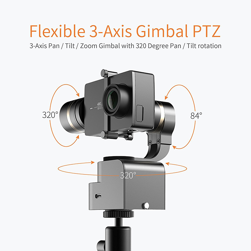 & 3-Axis Light Handheld