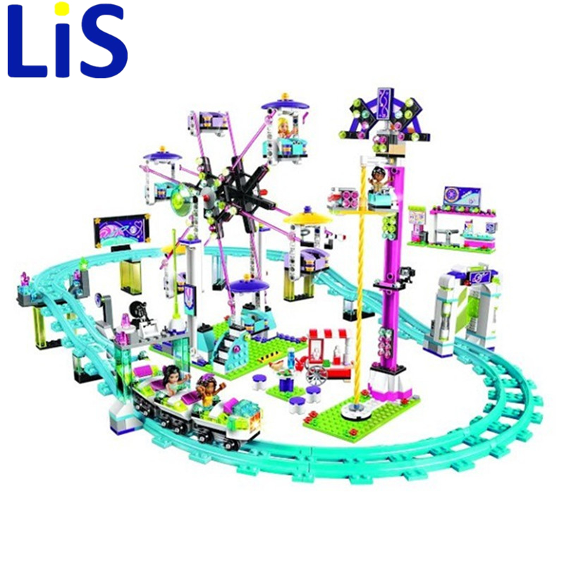 Lis 10563 Model building kits compatible with lepin city girls friend Amusement Park 3D blocks Educational model building toys lepin 02012 city deepwater exploration vessel 60095 building blocks policeman toys children compatible with lego gift kid sets