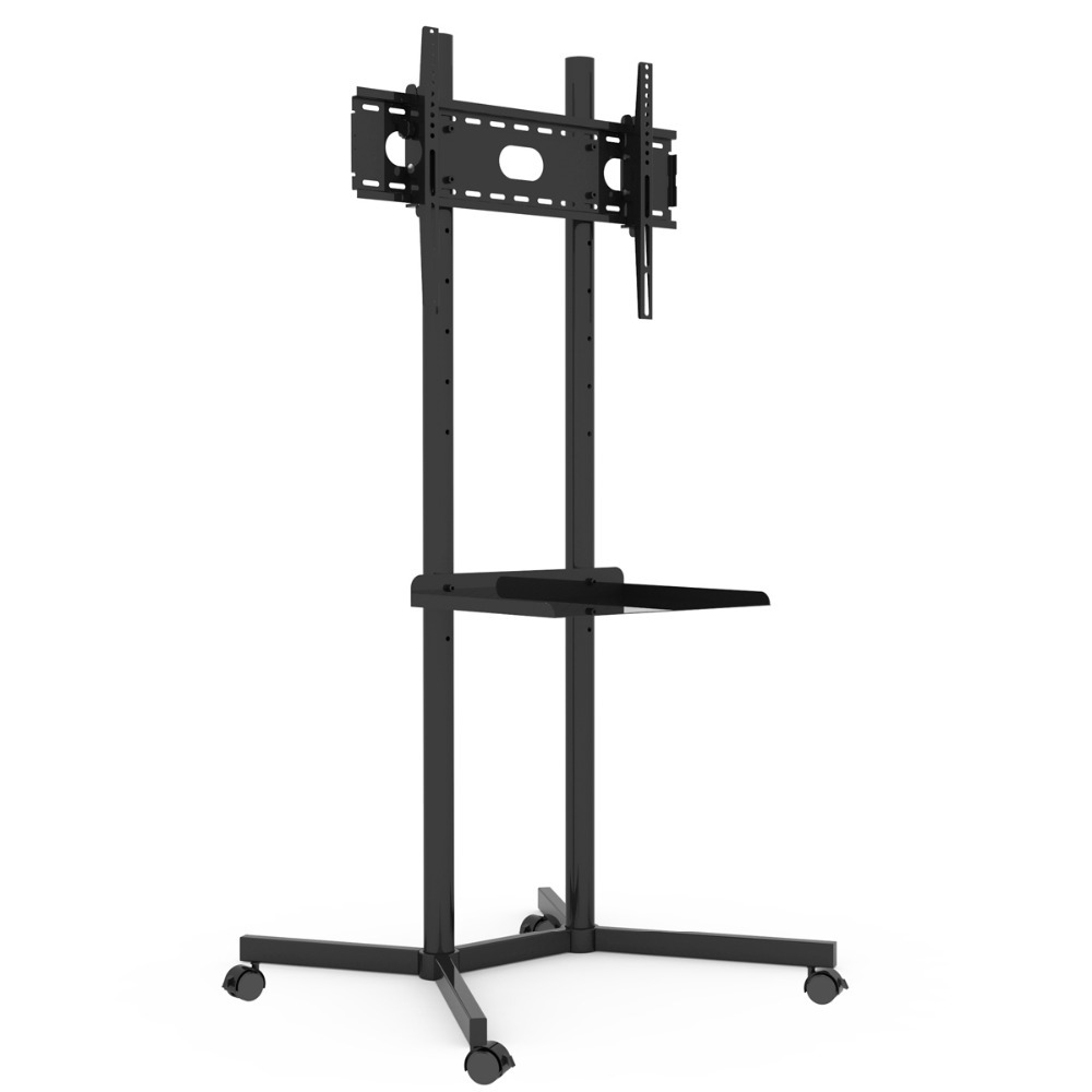 32 60 lcd floor mount tv stands in tv mount from consumer electronics on. Black Bedroom Furniture Sets. Home Design Ideas