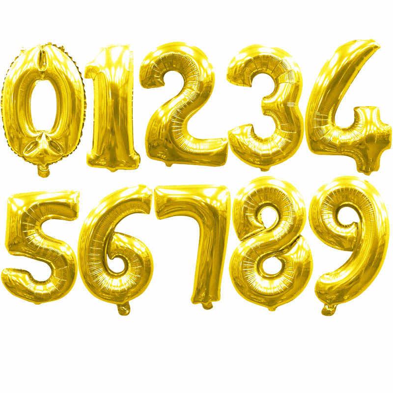 40 дюймов большое количество воздушных шаров фигурки фольги баллон из гелий летающие воздушные шары для дня рождения украшения игрушка для детей и взрослых globos S6XN