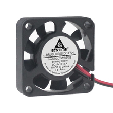 20PCS/Lot  Free Shipping GDT Energy-saving 4010s 2pin 9 Blades 40mm 4CM Axial Fan x 10mm cooling fans
