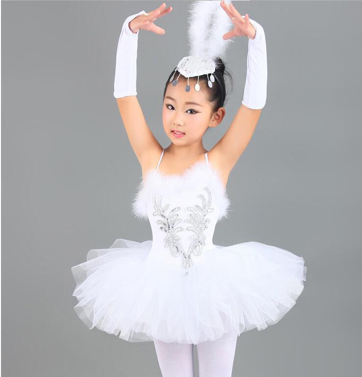 professional-white-sequins-swan-lake-font-b-ballet-b-font-tutu-costume-girls-children-ballerina-dress