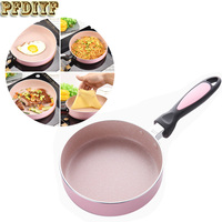 16cm Non Stick Copper Frying Pan With Ceramic Coating Mini Fried Eggs Pot Cake Pan And