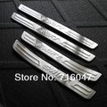 free shipping swift Stainless Steel Scuff Plate/Door Sill 4pcs/set car accessories for swift