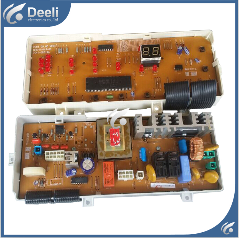 95% new Original good working washing machine board pc board for samsung wf-r853 xsc wfs-r1053a xsc c843 MFS-R1043-00 on sale 100% tested for washing machines board xqsb50 0528 xqsb52 528 xqsb55 0528 0034000808d motherboard on sale