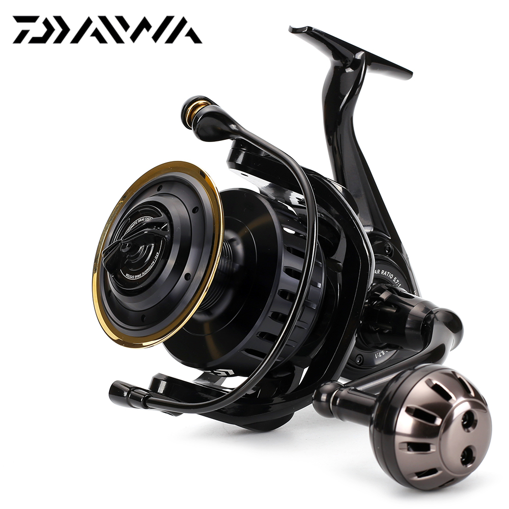 Free express 100 original daiwa saltiga 7000h spinning for Daiwa fishing reels