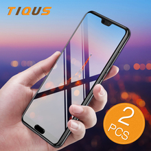 TIQUS Screen Protector For Huawei P20 Pro P10 Lite Protective Tempered glass P9 P8 2017 Protection Film