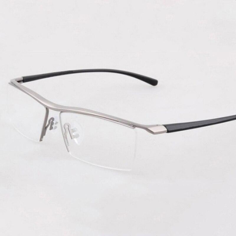 Halbrand Brillen Titan Brillen Rahmen Männer Optische Leserahmen ...