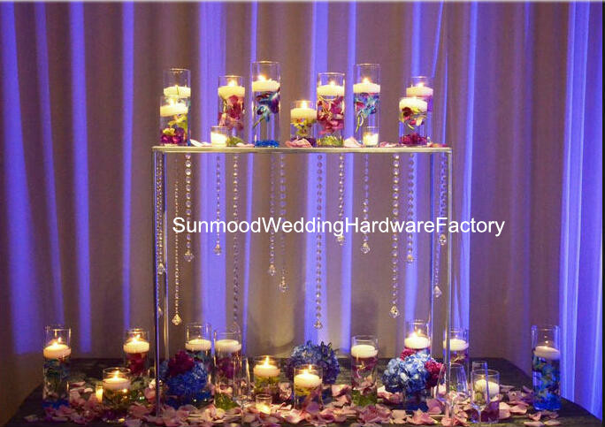 Aliexpress Com Modern Acrylic Wedding Chandelier Candle Holder Centerpieces For Favor And Home Decoration From Reliable