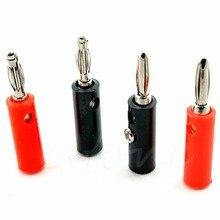 10 шт. аудио Динамик Провода Banana Plug Инструменты для наращивания волос 4 мм адаптер Real Cable запись
