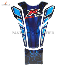 Motorcycle Accessorie Sticker Racing Team Gas Fuel Tank Pad Decals Case for Honda Harley Yamaha Suzuki Kawasaki