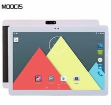 "Moocis 2017 nuevo android 6.0 1920*1200 tabletas pc 4g lte tab pad 10.1 Pulgadas IPS Octa Core Dual SIM Tarjeta de Llamada Telefónica 10 ""Phablet"