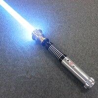 Новый звуковой люки звезда черная серия световой меч Люка Скайуокера джедай синий Вейдер меч пять специальный подарок третий поколение 110 с