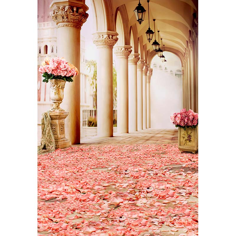 Vinyl Photography Background Palace Stage The Long Corridor Wedding party Photography Backdrops for Photo Studio CM-6262 сумка abag 6262