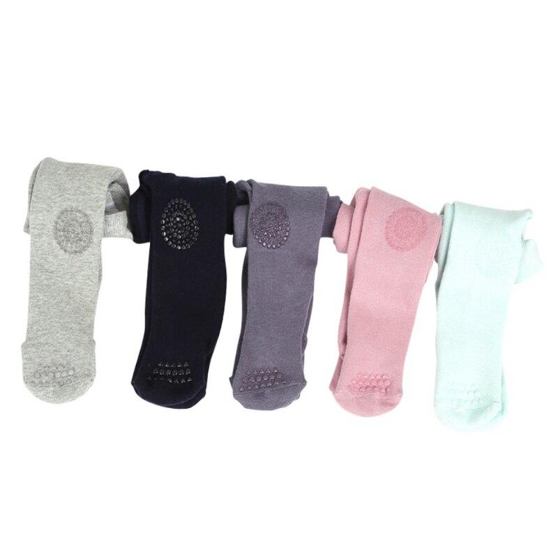 Newborn Solid Toddler Classic Leggings Girls Pants Safe Non Slip Girls Baby Kids Leggings Colorful Leggings