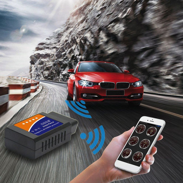 V03HW 1 Vehicle WiFi Version V1.5 Diagnostic Scanner Supports OBDII Protocol ND for Android  Windows  iOS 16pin OBDII standard