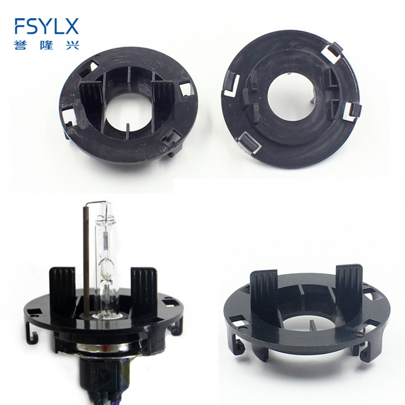 FSYLX H7 HID Bulb Base Holder Adapter For Hyundai Tucson For KIA K6 Car Auto HID Xenon Bulb Holder H7 HID Clip Adaptor Adapter