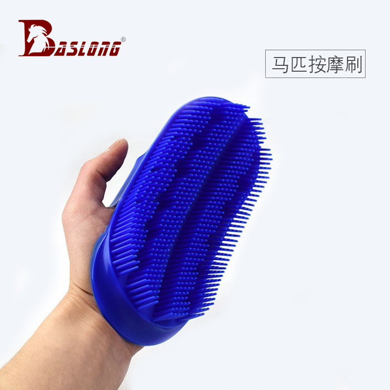 Horse Brush Horse Cleaning Stable Supplies Massage Brush